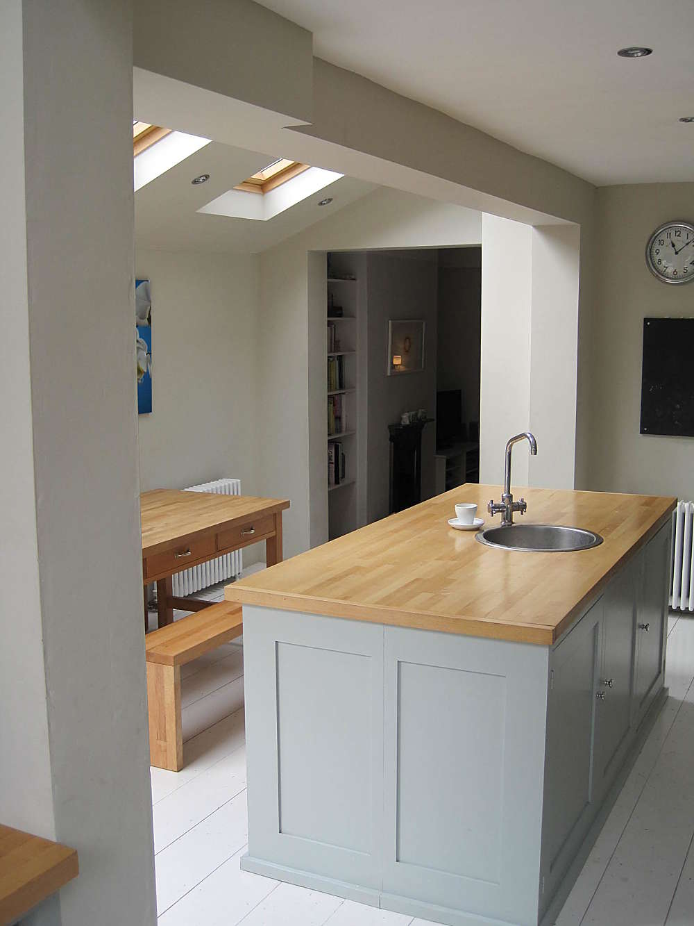 Kitchen Extension And Room In The Roof Mccurdy Architecture