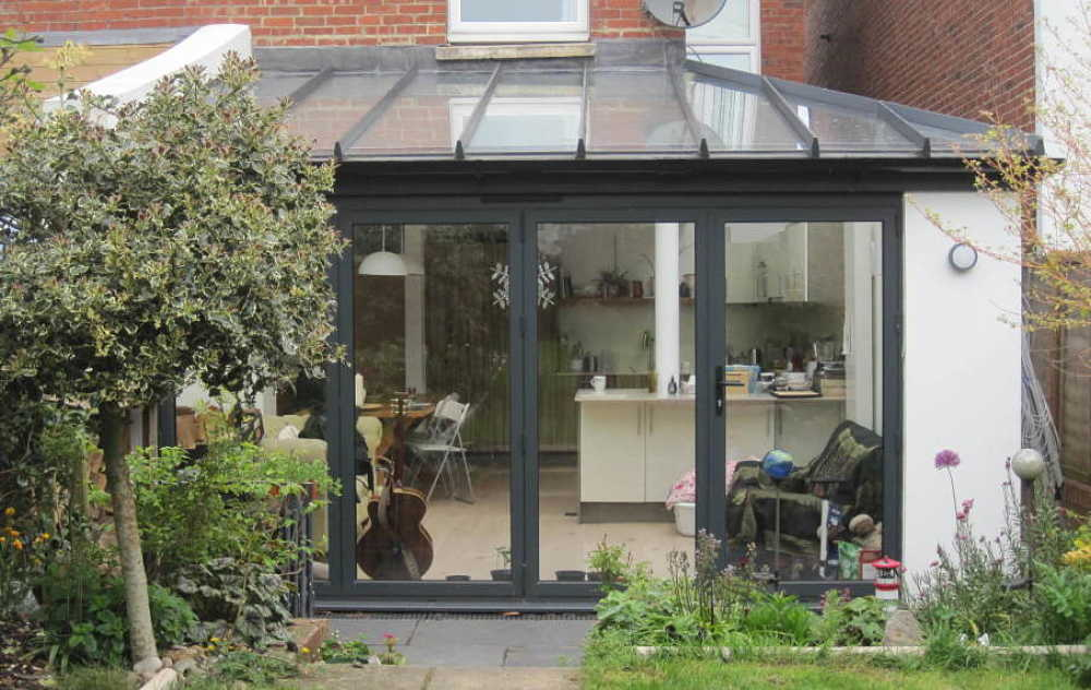Rear Extension Replacing Conservatory Mccurdy Architecture